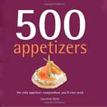 HungryMonster Cookbook Pick 500 Appetizers: The Only Appetizer Cookbook